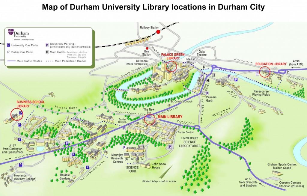 DULibrariesMap-Durham-2010