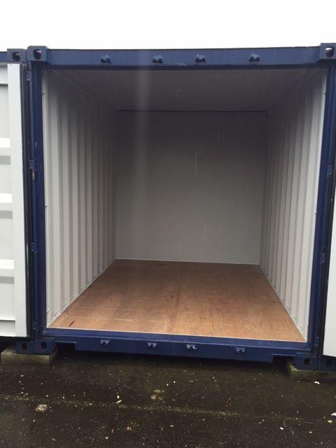 empty 10x8 unit